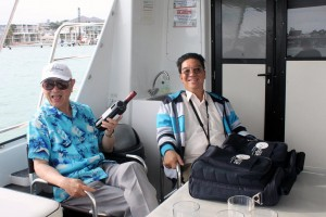 The only Honorary Advisor, Life member Harry Seow on board. Another member there (who said no HakkaWA members were on the cruise?)