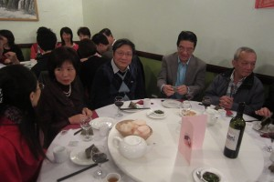 (From left) Peggy, Mr and Mrs Chao and Chris SL Wong (right)