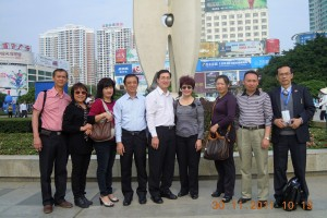 Tour of Beihai City before the start of the conference