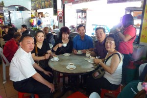 Tasting the famous Ipoh Old Town White Coffee
