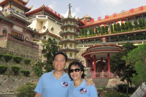 Impressive architecture at Kek Lok Si Temple