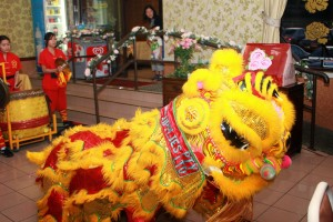 Lion dance performance by Yarn Yee Tong headed by master Quyen LUONG.