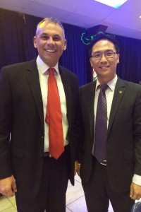 Keith Yong with Chief Minister of Northern Territory Hon. Adam Giles