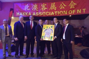 Gift presented to our Hakka Association of Western Australia Inc.