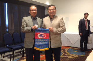 Mr Chong of Brazil Hakka Association. Also President of  World Hakka Association